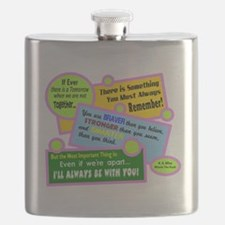 always Be With You-A. A. Milne Flask