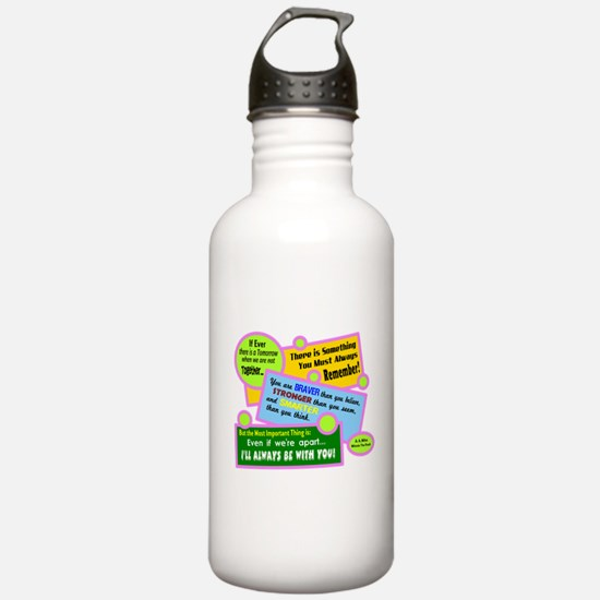 always Be With You-A. A. Milne Water Bottle