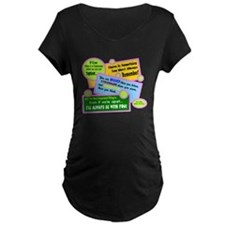 always Be With You-A. A. Milne Maternity T-Shirt
