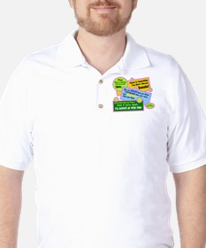 always Be With You-A. A. Milne Golf Shirt