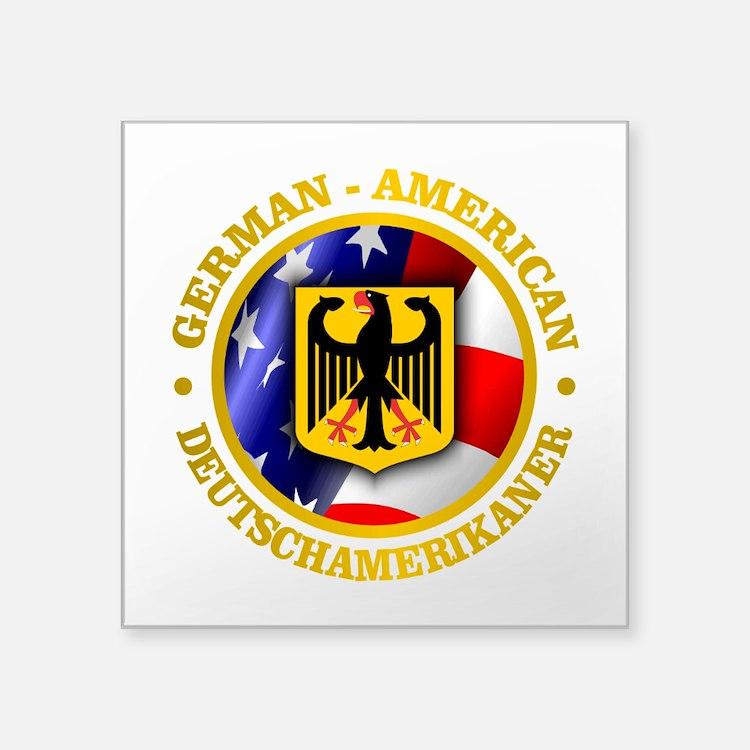 German-American Sticker
