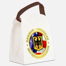 German-American Canvas Lunch Bag