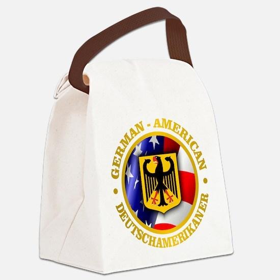 German-American Canvas Lunch Bag