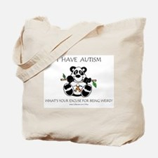 I Have Autism Tote Bag