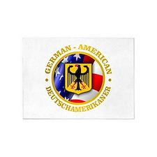 German-American 5'x7'Area Rug