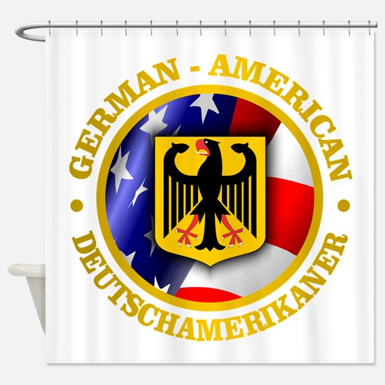 German-American Shower Curtain