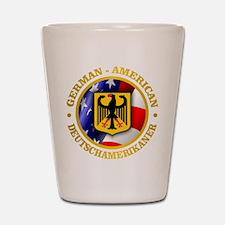 German-American Shot Glass