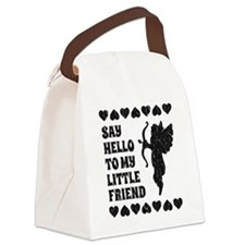 Vintage My Little Friend Cupid Fu Canvas Lunch Bag
