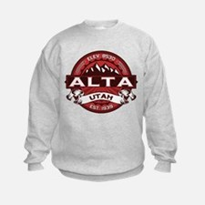 Alta Red Sweatshirt