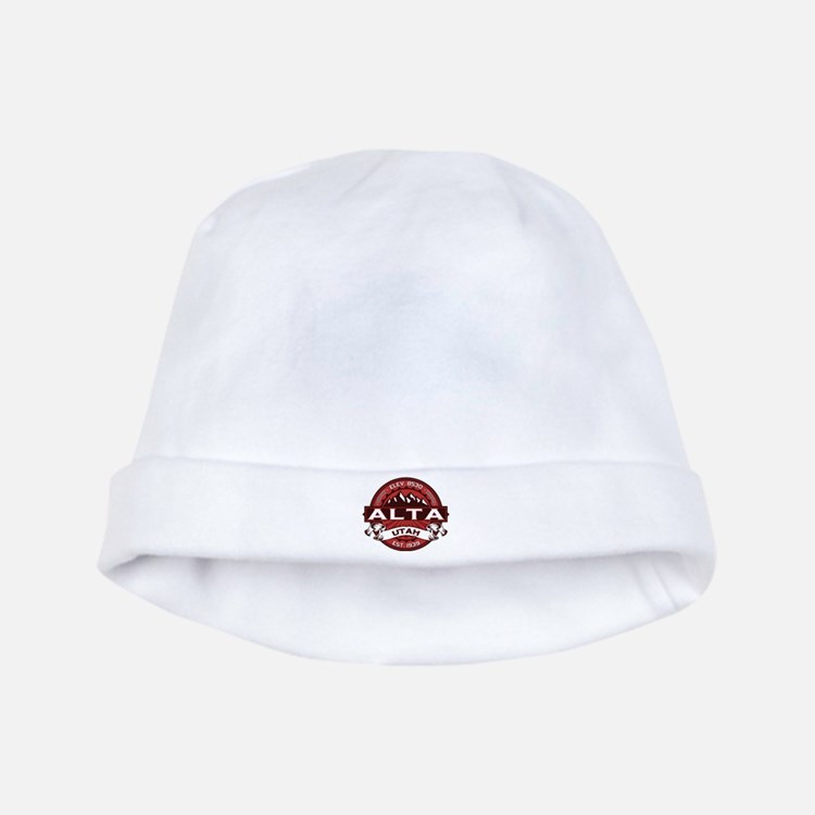 Alta Red baby hat