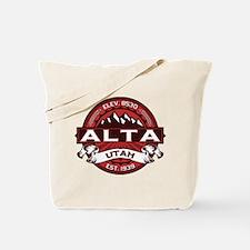 Alta Red Tote Bag