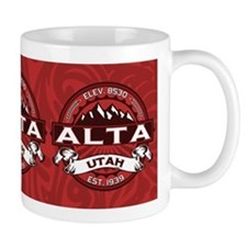Alta Red Small Mug