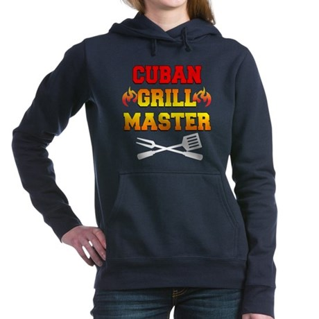 Cuban Grill Master Apron Hooded Sweatshirt