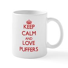 Keep calm and love Puffers Mugs