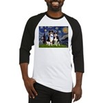 Starry/2 Aussies (scarves) Baseball Jersey