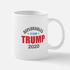 Deplorables for Trump 2020 Mugs