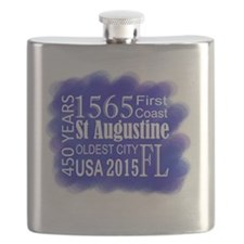 450th Anniversary in Blue Flask