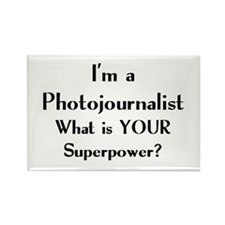 photojournalist Rectangle Magnet