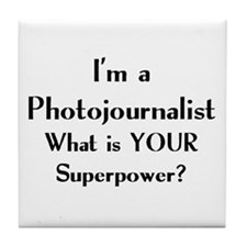 photojournalist Tile Coaster