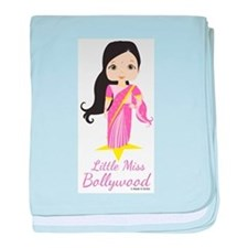 Little Miss Bollywood baby blanket