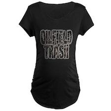 Oilfield Trash Riveted Metal Maternity T-Shirt