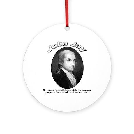John Jay 01 Ornament (Round)