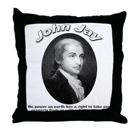 John Jay 01 Throw Pillow