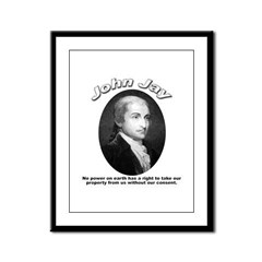 John Jay 01 Framed Panel Print