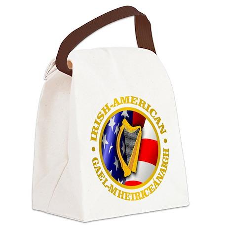 Irish-American Canvas Lunch Bag