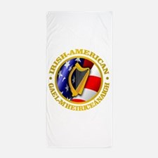 Irish-American Beach Towel