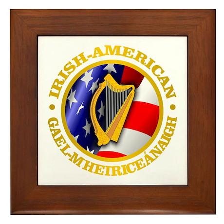 Irish-American Framed Tile