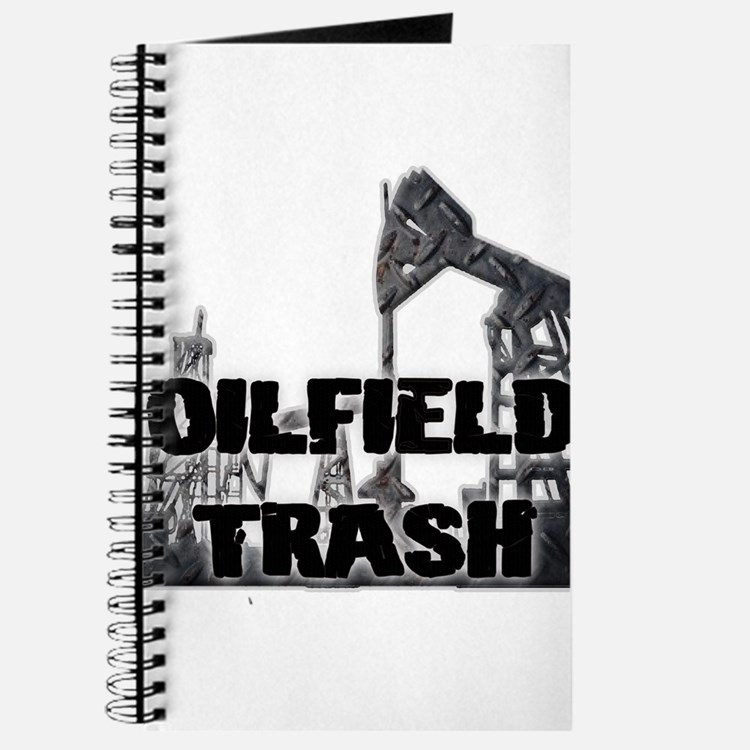 Oilfield Trash Diamond Plate Journal
