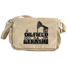 Oilfield Trash Diamond Plate Messenger Bag