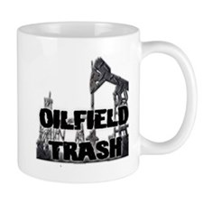 Oilfield Trash Diamond Plate Mugs