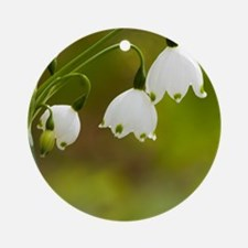 Lily of the valley Round Ornament