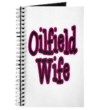 Oilfield Wife Pink Damask Journal