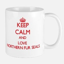 Keep calm and love Northern Fur Seals Mugs