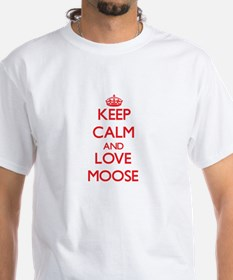 Keep calm and love Moose T-Shirt