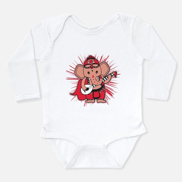 Baby Ganesha Long Sleeve Infant Body Suit