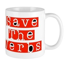 Save The Verbs Mug