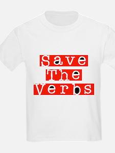 Save The Verbs T-Shirt