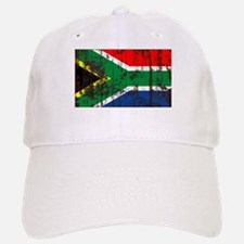 South Africa Grunge Flag Baseball Baseball Cap