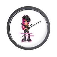 Born to be a Diva (A) Wall Clock