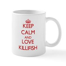 Keep calm and love Killifish Mugs