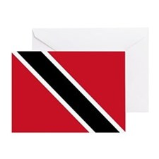 Trinidad Tobago Flag Greeting Card