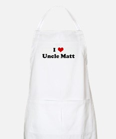 I Love Uncle Matt BBQ Apron