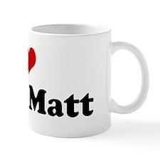 I Love Uncle Matt Small Mug
