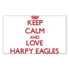 Keep calm and love Harpy Eagles Decal