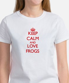 Keep calm and love Frogs T-Shirt