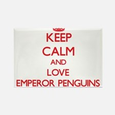 Keep calm and love Emperor Penguins Magnets